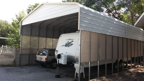 carport outlet weather blocker by carports tnt metal carports