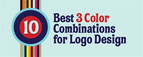 best logo color combinations 10 best 3 color combinations for logo design with free