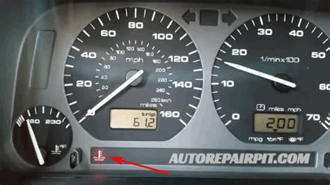 dashboard lights show engine temperature warning light  autorepairpitcom