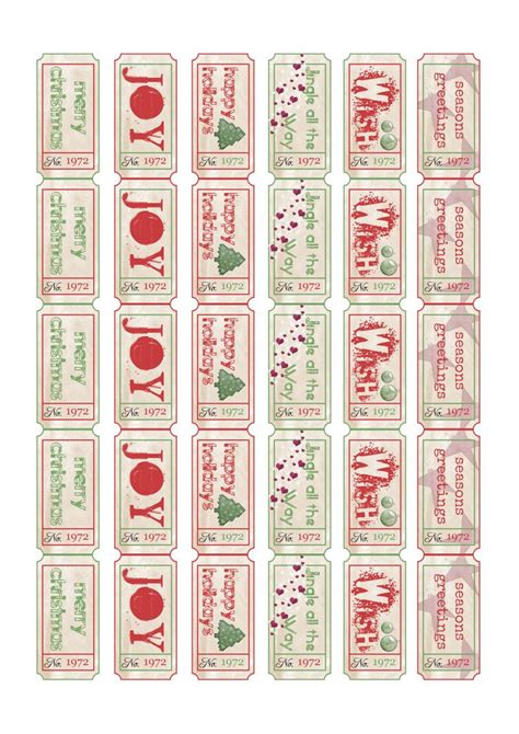 printable holiday tickets free printables xmas tickets holidays christmas