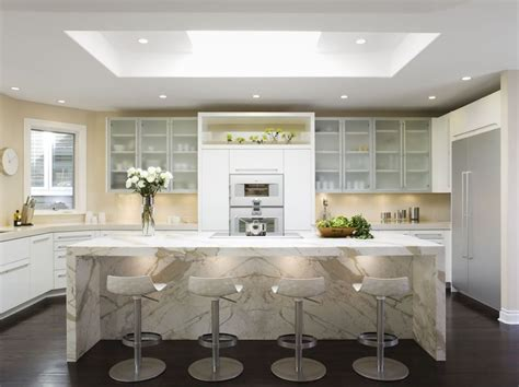 Meja Marmer 29 desain meja dapur minimalis sederhana terbaru 2018