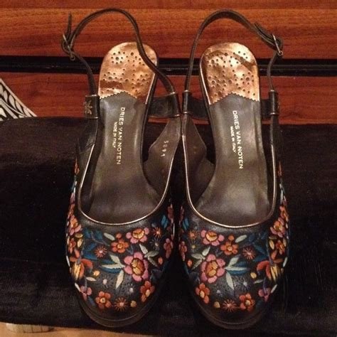 65 dries noten shoes dries noten embroidered sling backs shoes from shopsoul s
