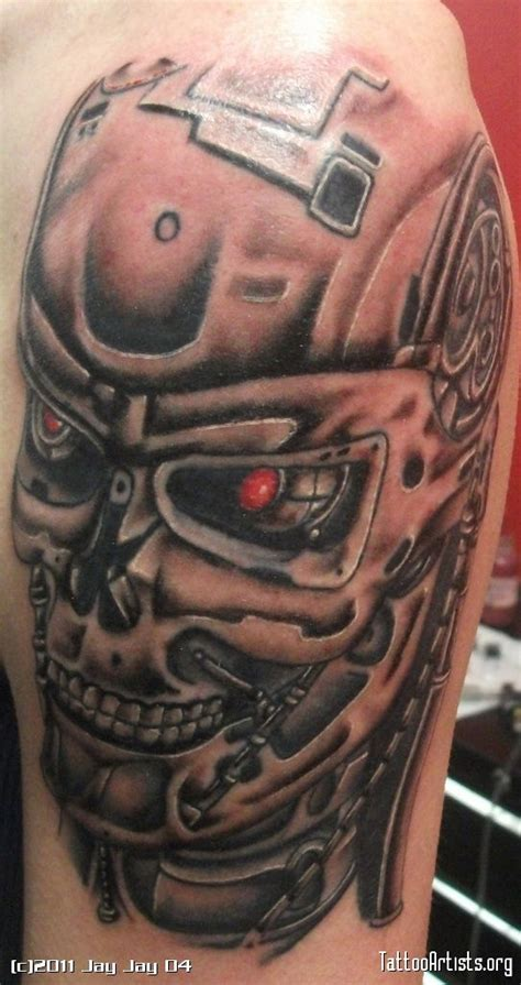 terminator arm tattoo terminator sleeve terminator tattoos