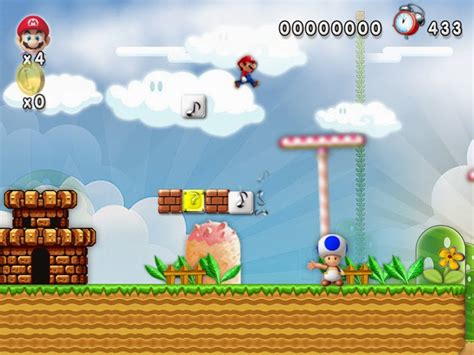 download mario forever full version for pc download new super mario forever pc games full version