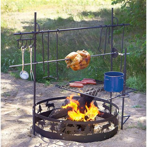 Firepit Cooking Guide Gear Cfire Swing Grill 167005 Stoves At Sportsman S Guide