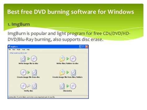 best software for cd burning best free dvd burning software for windows