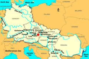 Vienna World Map by Where Is Vienna Austria On A Map