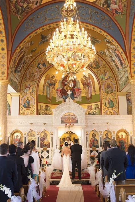 Classic Greek Orthodox Ceremony & Modern Reception in New