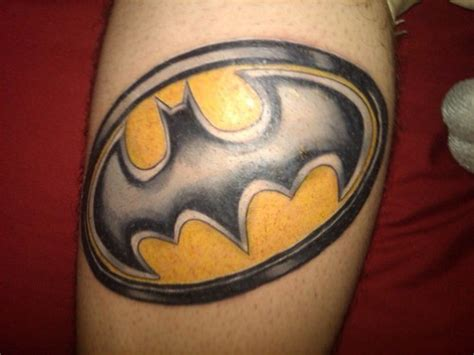 logo of batman tattoos batman tattoos