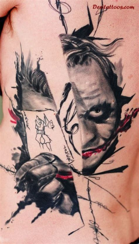 joker card tattoo designs 55 cool joker tattoos