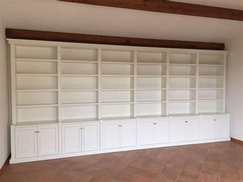 librerie bianche mobili su misura arredamenti su misura di qualit 224