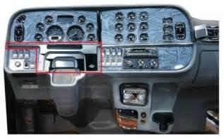 Peterbilt Truck Interior Accessories Right Dash Panel Trim Chrome 2006 Peterbilt Ebay