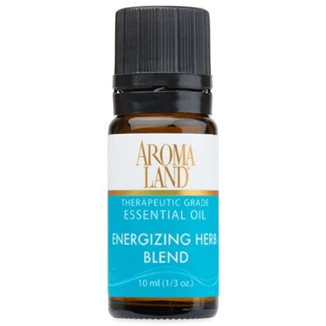 Beautyzen 8 To 8 Energizing 10ml energizing herb essential blend aromaland