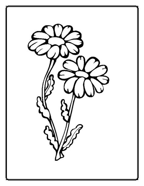 flower coloring pages medium 187 coloring pages