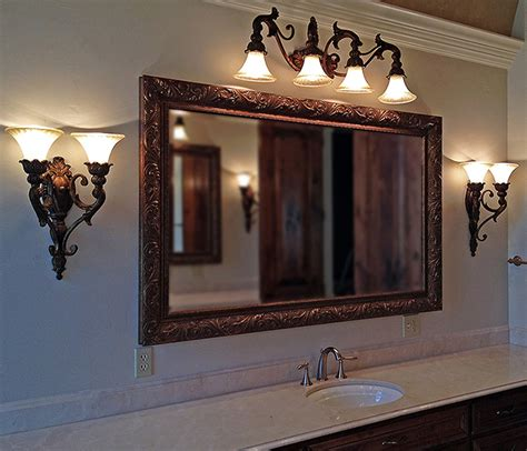 Bathroom Mirrors Houston Framed Bathroom Mirrors Houston How To Frame A Bathroom Mirror Size Of Bathroom Mirrors
