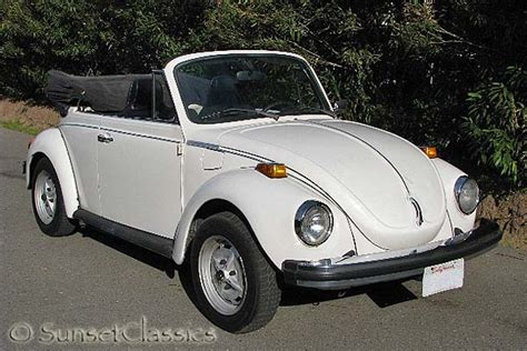 Volkswagen Beetles For Sale by 1974 Volkswagen Beetle Convertible For Sale