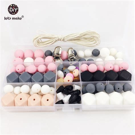 Pacifier Holder For Crib by Slicone Teether Baby Diy Crafts Set Pacifier Crib
