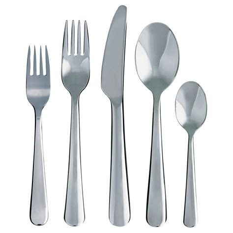 flatware sets 20 piece flatware set stainless steel quot dragon quot from ikea