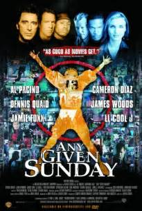 Any given sunday movie trailer reviews and more tvguide com