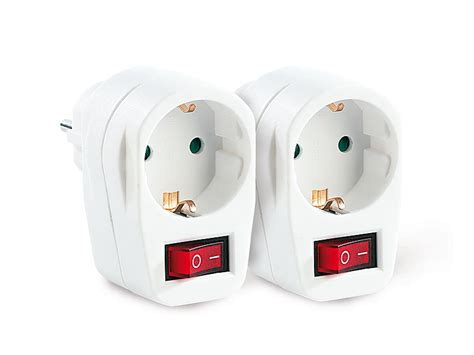 Sextoys Aus Dem Haushalt 5108 by Revolt Stromspar Steckeradapter Mit Netzschalter 2er Set