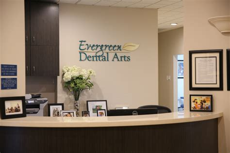 Dentist Front Desk by Office Tour Evergreen Dental Arts