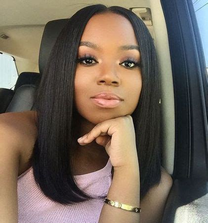 25+ best ideas about middle part sew in on pinterest