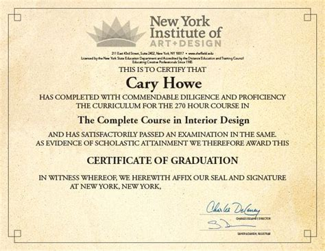 interior design certification 1000 images about new york institute of art and design on