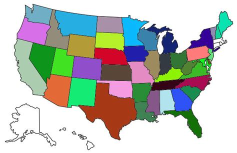 us map states visited cross country fulltime rving maps continued live work