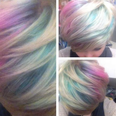 iridescent hair color how to iridescent opal slick hair glam express