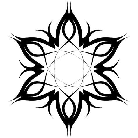 tatuajes tribales flores vector 2 descarga en vectorportal