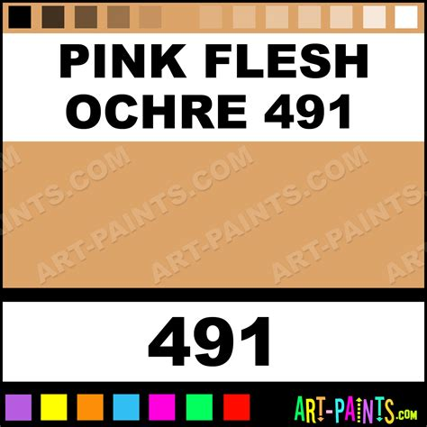 In The Pink At Ochre by Pink Flesh Ochre 491 Soft Pastel Paints 491 Pink Flesh