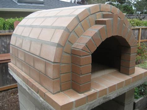build wood fired pizza oven your backyard how to build a wood fired brick oven building a wine rack