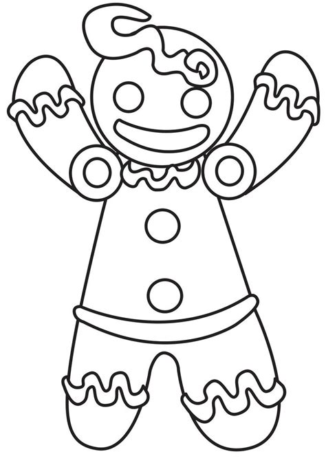 gingerbread man shrek coloring page gingerbreadman by ladyriveria on deviantart