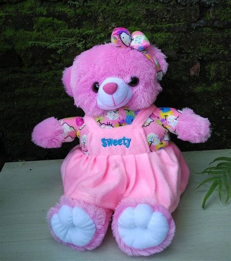 Boneka Teddy Pink Lucu jual boneka teddy sweety lucu harga murah dan