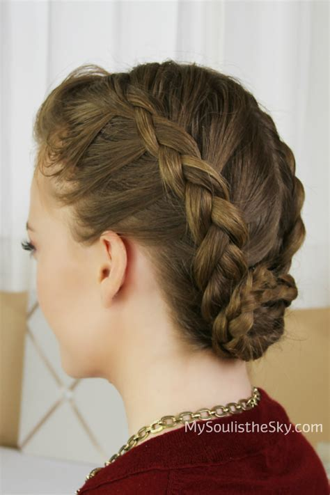 Braided Buns Hairstyles by 29 Braided Bun Hairstyles Hairstylo