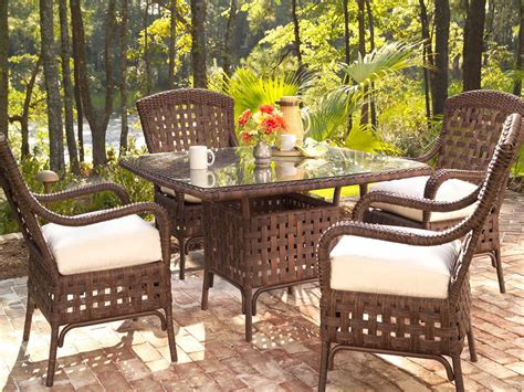 lloyd flanders patio furniture lloyd flanders wicker dining set lfhavds