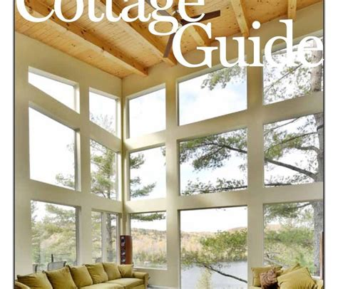 cottage guide cottage guide 2016 from ottawa magazine logs end
