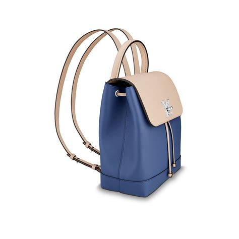 Louis Vuitton Backpack Multifungsi 1 louis vuitton lockme backpack in blue lyst
