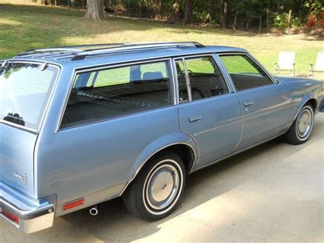 blue station wagon purchase used 1980 oldsmobile cutlass cruiser brougham