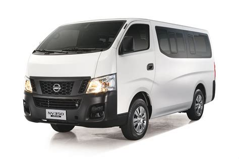 nissan family van nissan formally launches nv350 urvan w brochure
