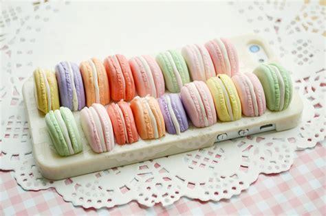 Casing Iphone 6 6s 6plus Lace Corner Soft les macarons macaroons laduree herme macaroon stack