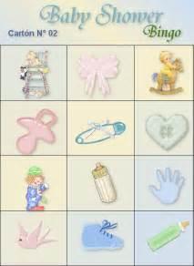 loteria de baby shower lista para imprimir imagui