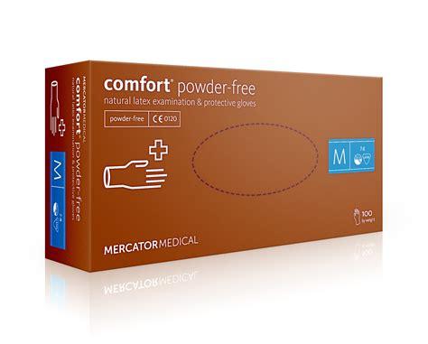 comfort free rękawice latex comfort powder free xl 100szt ewa medical