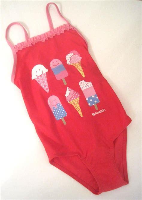 ragazze in costume da bagno al mare new swimsuit swim costume age 2 3 3 4 4 5 5 6