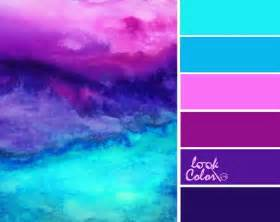 what color combination makes purple best 25 turquoise color schemes ideas on