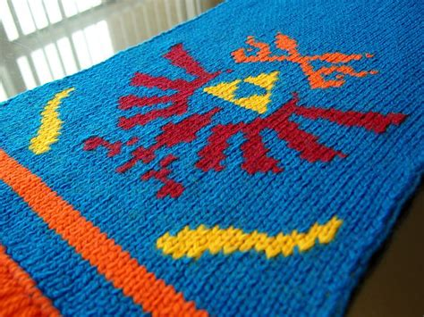 knitting pattern for zelda ravelry legend of zelda link s hyrule warriors scarf
