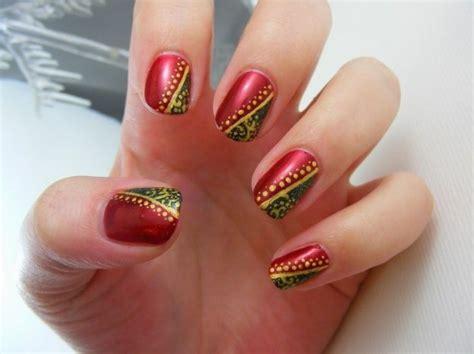 imagenes de uñas decoradas rojo y dorado u 241 as navidad 2013 fotos dise 241 os originales 16 20 ellahoy
