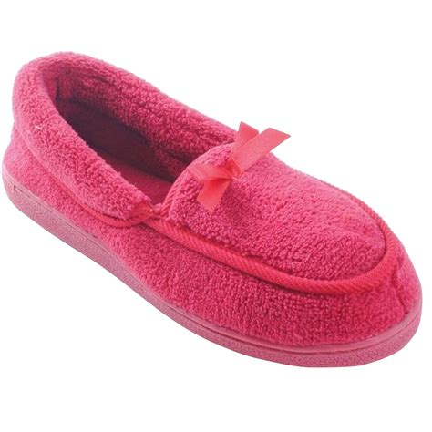 womens size 13 house slippers womens ladies classic indoor house slipper shoes slippers with bow szs 5 5 10 5 ebay
