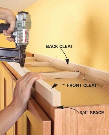 how to add a shelf to a cabinet the how to add shelves above kitchen cabinets cleats