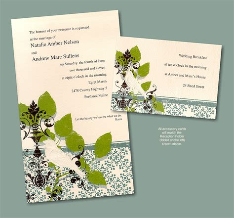 Wedding Invitations Recycled Paper by Wedding Invitation 喜帖 Wedding Invitationcard 点力图库